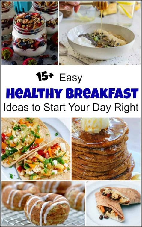 simple healthy breakfast recipes