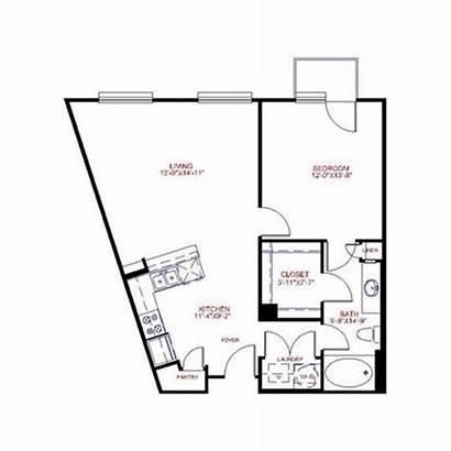 Furniture Layout Trapezoidal Apartmenttherapy