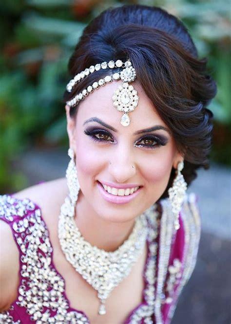 30 Stylish Asian Bridal Hairstyles   London Beep