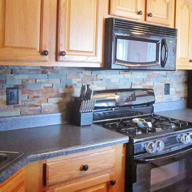 slate tile kitchen backsplash 11 style setting tiles destined for your backsplash home 5323