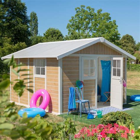 gartenhaus kunststoff grosfillex gartenhaus aus kunststoff 11 2m 178 deco sherwood grosfillex