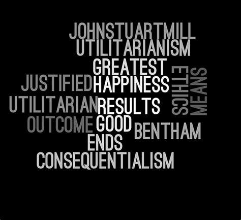 photo ethics wordcloud utilitarianism  image