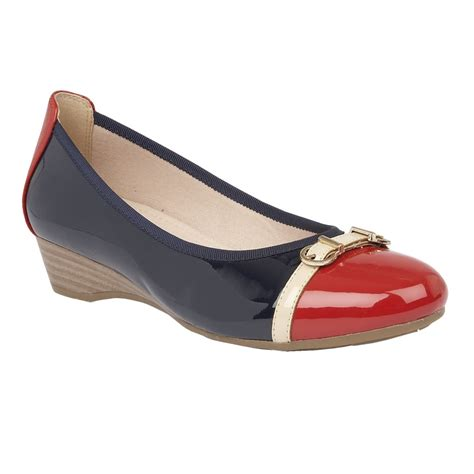 Lotus Bisera Navymulti Shiny Casual Shoes  Shoes From