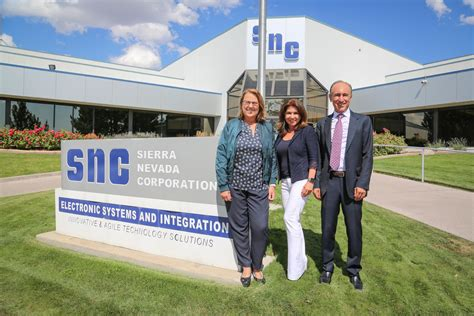 Sierra Nevada Corporation Owners Welcome The United ...