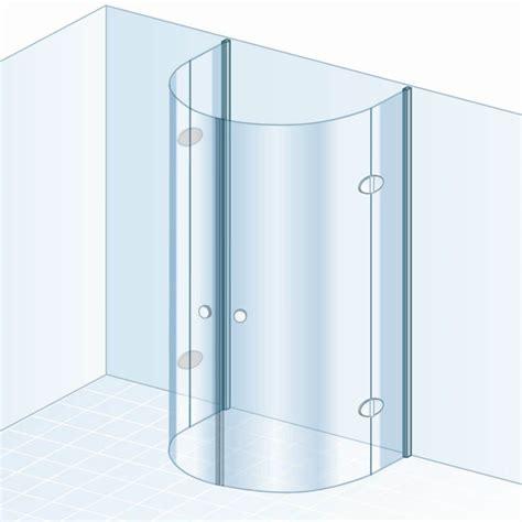 schulte garant drehfalttür schulte garant halbkreisdusche mit drehfaltt 252 ren echtglas d871608