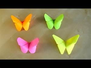 Schmetterlinge Basteln 3d : basteln origami schmetterling falten mit papier bastelideen geschenke diy deko ~ Orissabook.com Haus und Dekorationen