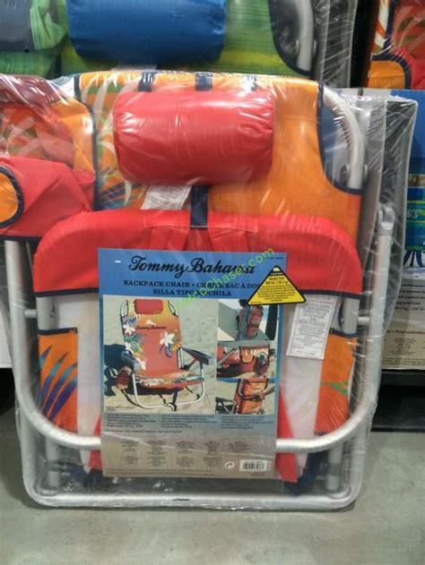 costco  tommy bahama backpack beach chair costcochaser