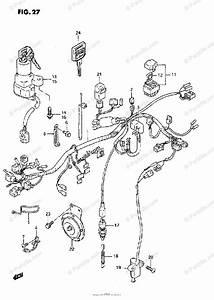 Suzuki Motorcycle 1995 Oem Parts Diagram For Wiring