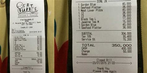 Aborsi Jogja Makan Di Fat Bubble Kasir Seenaknya Bulatkan Bill Jadi Rp