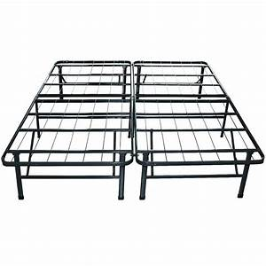 Elevated King Bed Frame - Bed & Bath