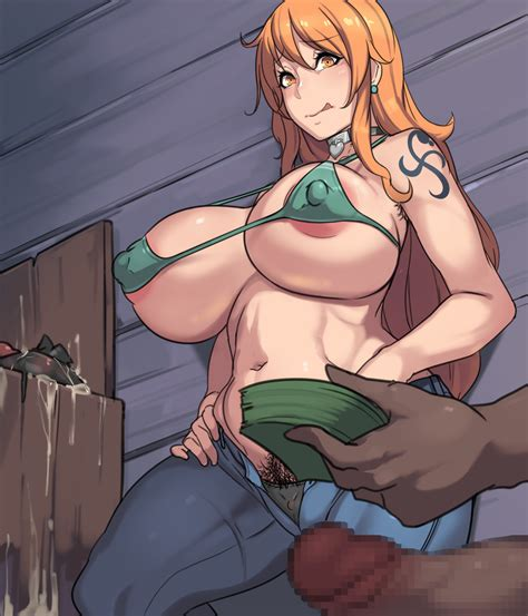 nami working a back alley metal owl [one piece] the rule 34