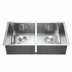 """30"""" X18"""" Commercial Stainless Steel Kitchen Sink Double"""