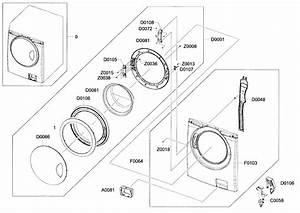 Samsung Washer Door Assy Parts
