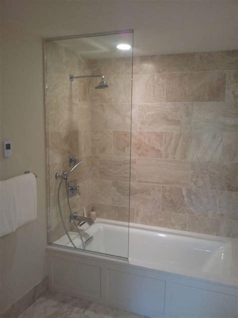 Bathtub Splash Guard Glass by Frameless Sliding Splash Guards Bathroom Other By