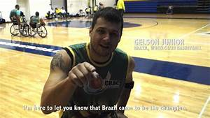 Wheelchair Basketball Player Gelson Junior On Hunt For