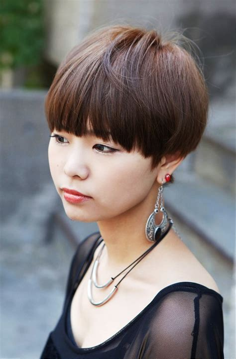 pictures  cute short japanese girls hairstyle  blunt