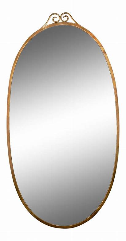 Clipart Oval Mirror Object Shaped Transparent Mid