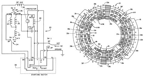 patent  single phase  speed motor  shared windings google patents