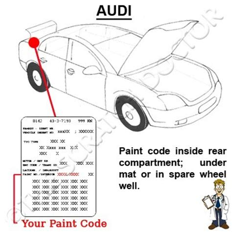 audi a6 touch up paint chip scratch repair kit all