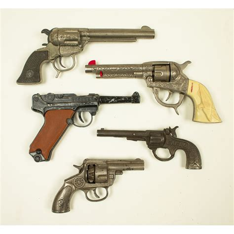 15 Assorted Cap Guns | Witherell's Auction House