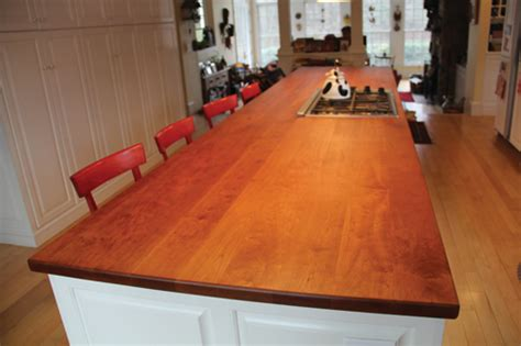 cherry countertops refinishing a cherry wood countertop extreme how to