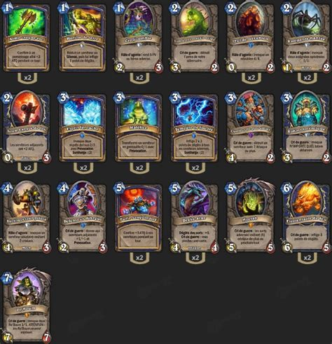 Shaman Deck Hearthpwn Tgt by Deck Chaman Bloodlust Tgt Thijsnl Hearthstone Heroes
