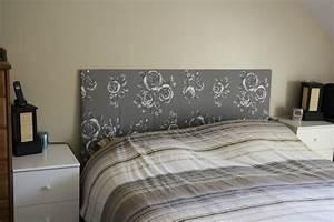 Lit 2m Sur 2m : diy 2 fabriquer une t te de lit tablier caro ~ Teatrodelosmanantiales.com Idées de Décoration