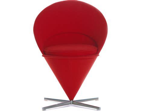 chaises panton verner panton cone chair hivemodern com
