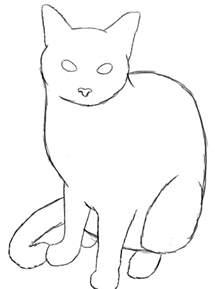 how to draw a cat how to draw a cat draw central