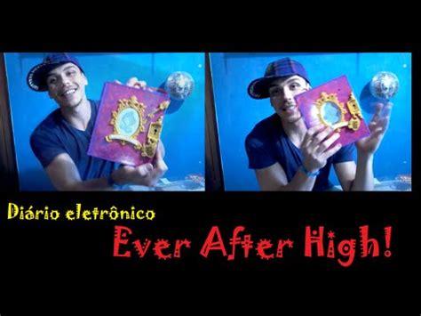 Ever After High Diário Eletrônico Encantado! - YouTube