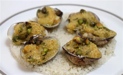recettes de palourdes farcies aux pistaches