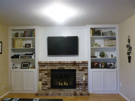 bookcases next to fireplace 32 best images about bookcase around fireplace on pinterest