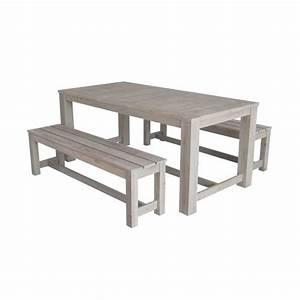 Table De Jardin En Bois Pas Cher : table de jardin pas cher leroy merlin ~ Teatrodelosmanantiales.com Idées de Décoration