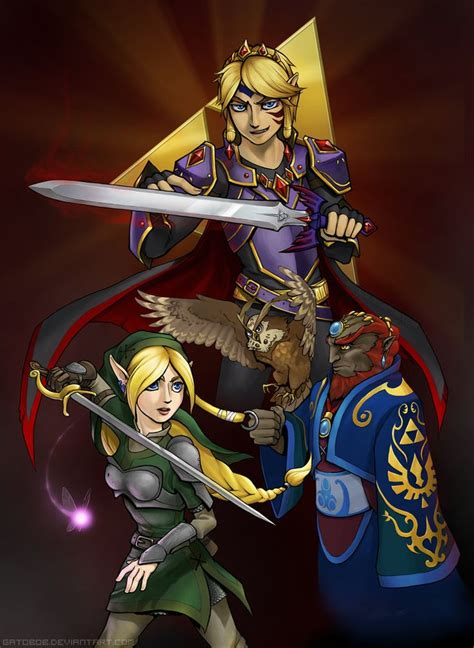 Twisted Triforce By Gatobob Thats An Interesting Concept