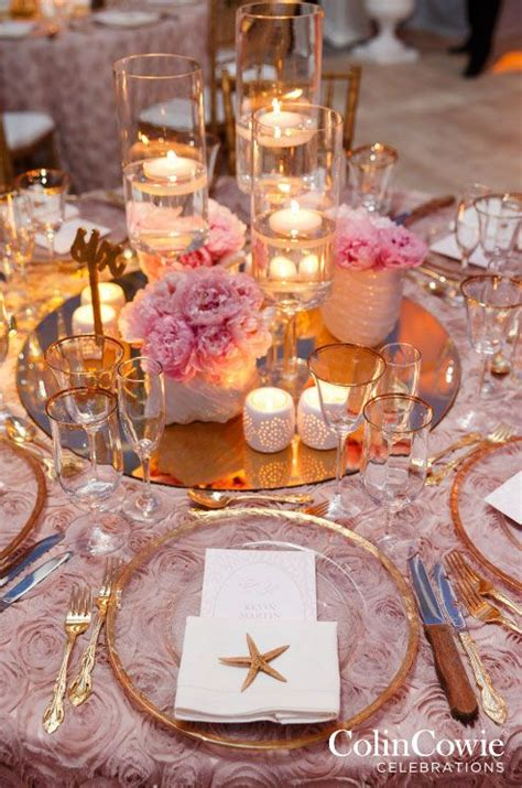 floating candle centerpieces   flower arrangements