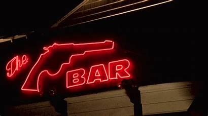 Neon Sign Bar Bang Hour Happy Peaks