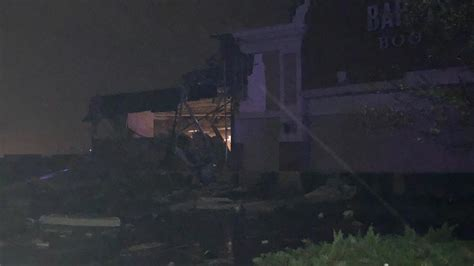 Heavy Damage To Area Businesses In Wilkes-barre Township