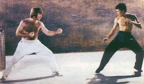 chuck norris and bruce lee fight combate t 225 tico bruce lee verdade ou mito