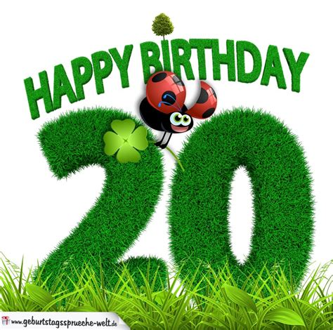 geburtstag als graszahl happy birthday