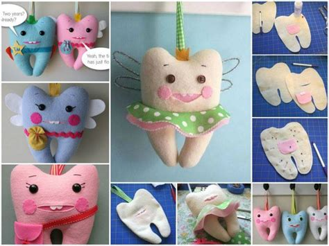 Wonderful Diy Cute Tooth Fairy Pillow