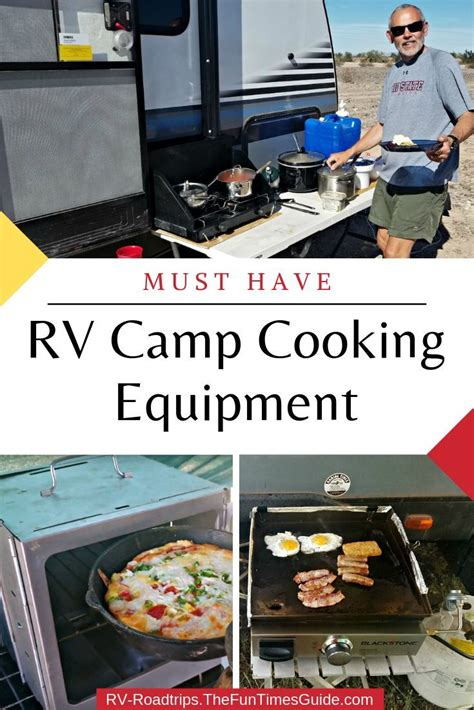 rv cooking equipment camping thefuntimesguide roadtrips