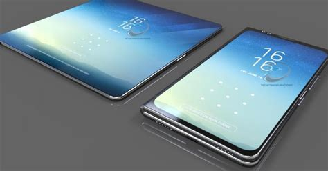 Concept  Le Samsung Galaxy X Se Présente Avec Son Design