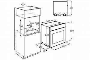 four encastrable dimension With dimension meuble four encastrable