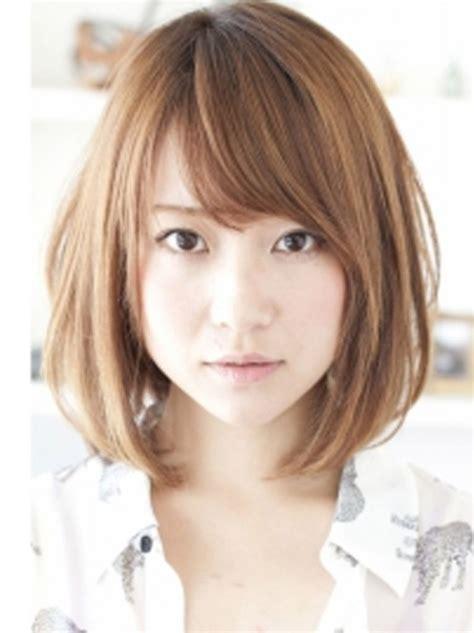 medium japanese hairstyle  asian medium hairstyles