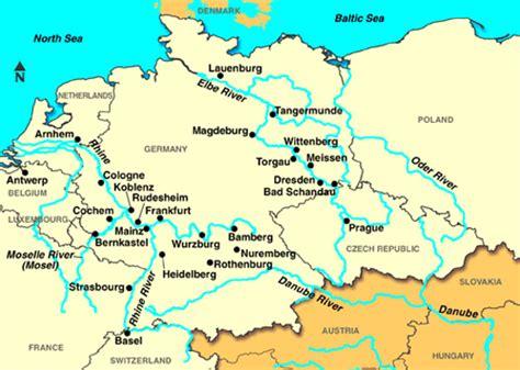 Carte Fleuve Rhin by Le Fleuve Rhin En Europe Croisi 232 Re Fluviale