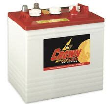 6 volt golf cart batteries crown cr 225 florida ebay