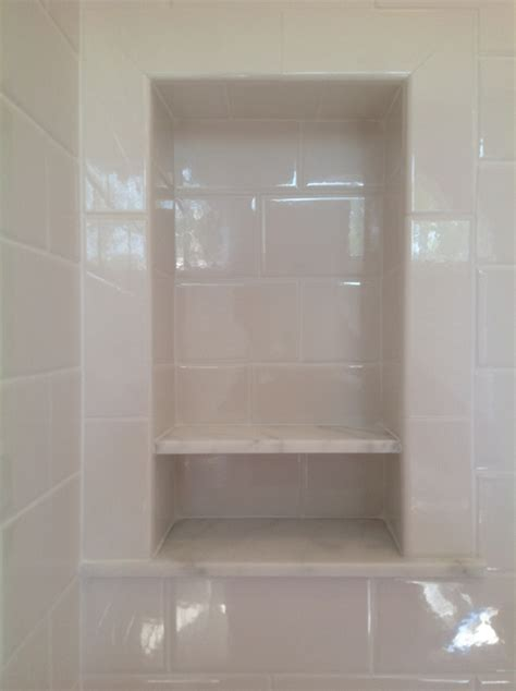marble shower shelf 1000 images about master bathroom on pinterest tile bath and carrara