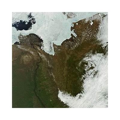 Earth Snapshot • Lena Delta