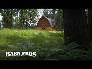 barn pros ayrshire gambrel barn youtube With barn pros reviews