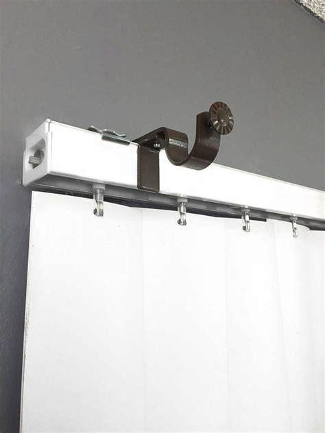 no drill curtain rod brackets nono bracket outside mounted blinds curtain rod bracket